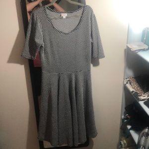 Flattering Polka Dot Nicole Dress
